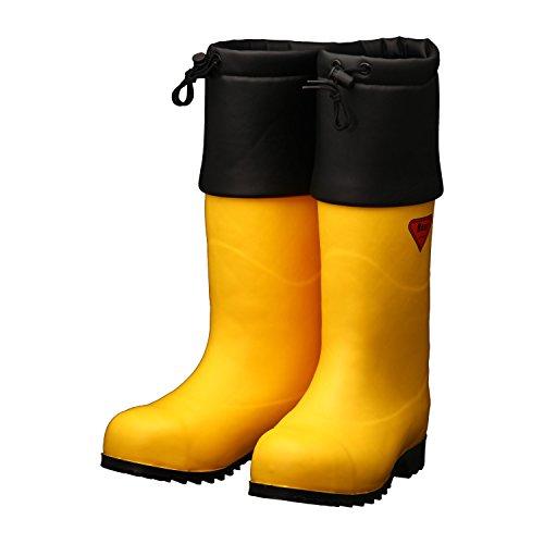 SHIBATA 防寒安全長靴 セーフティベアー#1001白熊(イエロー) AC091-28.0 防寒長靴