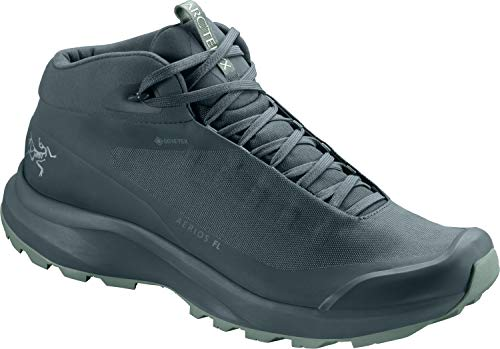 Arc'teryx Aerios FL Mid GTX Shoe Women's | Gore-Tex Hiking Shoe | Astral/Devine, 7.5