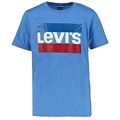 Levi's Camiseta de Manga Corta Sportswear Logo Azul para Niño