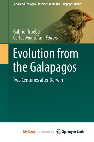 Evolution from the Galapagos: Two Centuries after Darwin