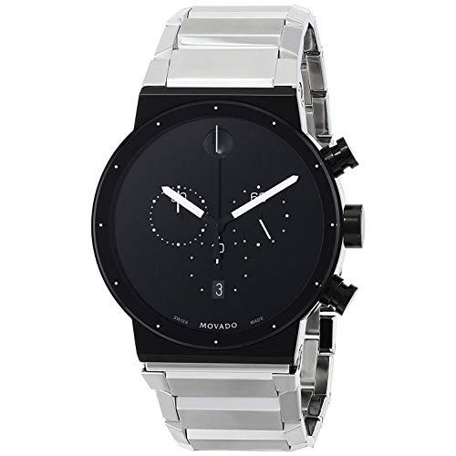 Movado Synergy Reloj de Hombre Cuarzo 42mm Correa y Caja de Acero 0606800