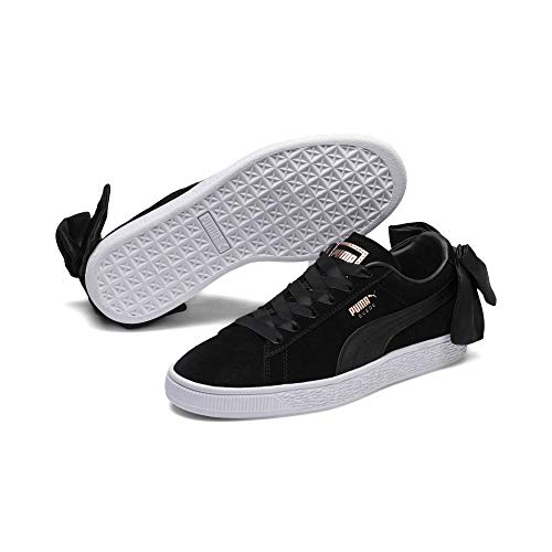 Puma Basket Bow Mujer Zapatillas Negro