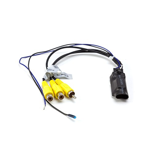 Carmedien Rückfahrkamera Switcher cm-VS1 Umschalter Umschaltbox für 2 Kameras Twin Doppel Rückfahrkameras Frontkamera 2X Eingang 1x Ausgang