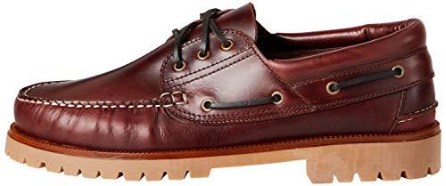 find. AMZ142 - Leather Náuticos, Zapatos para Hombre,Marron, 43 EU