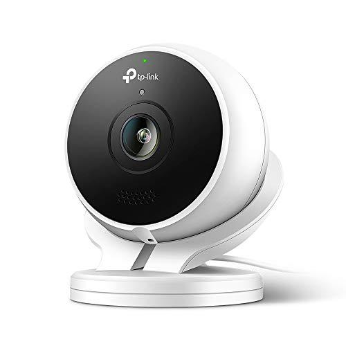 TP-link - Cámara de Vigilancia WiFi exterior/interior, Cámara IP Wifi 1080p, Premio IF de Diseño. Audio Bidireccional, Visión Nocturna, Detección de Movimiento, Compatible con Alexa o Google Assistant