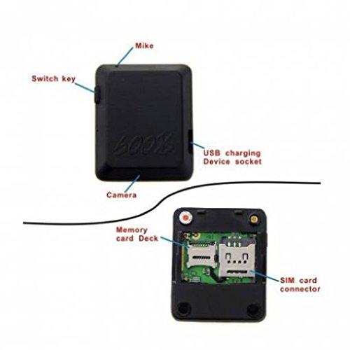 MICROSPIA AMBIENTALE CIMICE AUDIO VIDEO FOTO GSM REGISTRA SU SD E INVIA MMS SPY