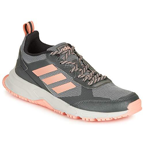 Adidas Rockadia Trail 3.0, Zapatillas Running Mujer, Gris (Grey Six/Glow Pink/Grey Two F17)