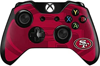 Skinit Decal Gaming Skin for Xbox One Controller - Officially Licensed NFL San Francisco 49ers Double Vision Design