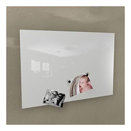 Colours-Manufaktur Magnetwand - weiß Weiss signalweiß * RAL 9003 * glänzend Hochglanz - Verschiedene Größen - 40 x 60 cm ; 50 x 80 cm ; 60 x 90 cm - (60 x 90 cm)