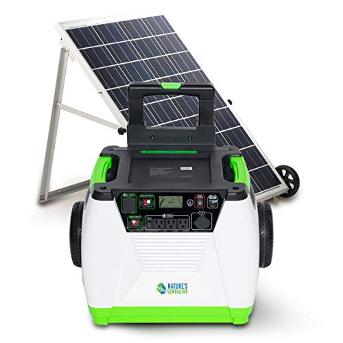 Nature's Generator 1800W Solar Powered Generator (Gold System A)