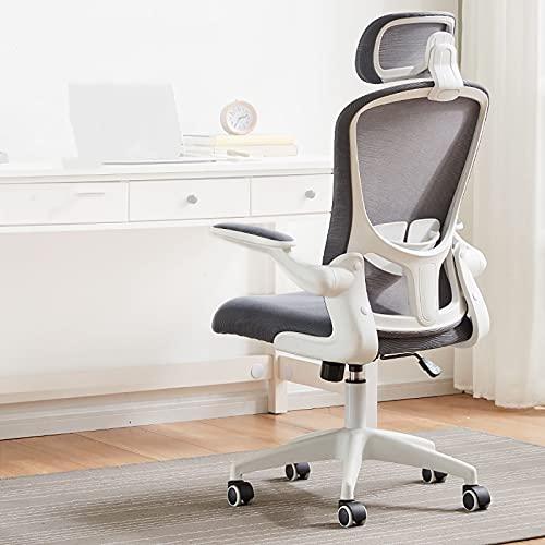Sedia da Gioco, Sedia da Ufficio con Schienale Alto, sedie da Videogioco Regolabili, con bracciolo Regolabile