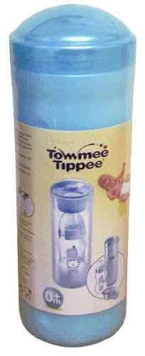 Tommee Tippee 30322 0011 - Recipiente térmico para biberones con dosificador de leche maternizada, color azul