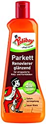 Poliboy - Parquet Renovator glossy - for wood and cork floors - immediate sealing - floor cleaning - single - 500ml - Made in Germany