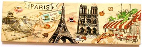 magnet aimant frigo MGA20 cuisine souvenir France Paris cadeaux Tour Eiffel 17X5cm