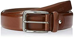 Camelio Mens Leather Formal Belt