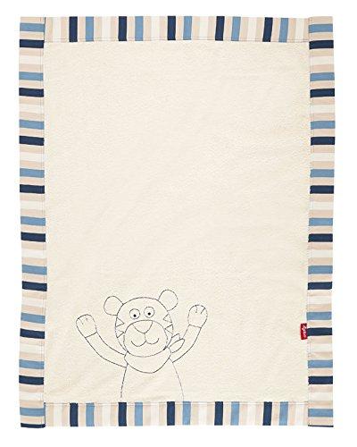 sigikid, Jungen, Schmuse-Decke Tiger, Maße: 100 x 75 cm, Tiggery Tiger, 41349