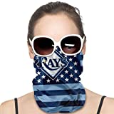 Tampa Bay Rays Balaclava Bandana Anti Uv Face Cover Men And Women Fashion Outdoor Sports Windproof Scarf Suitable For Exercise Yoga Hiking