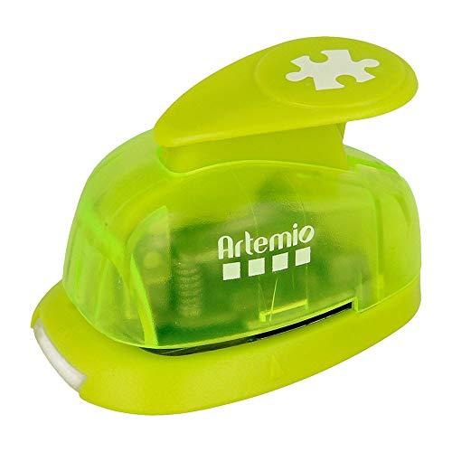 1,6 cm Perforadora Puzzle o Peque o, Verde