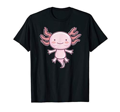 Axolotl Amphibien Lurch Aquarium Geschenk T-Shirt