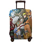 Funda de Equipaje de Viaje Anime Kyuubi Naruto, Fundas Protectoras con Cremallera Lavable para...
