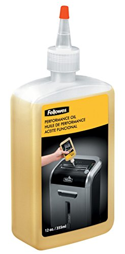 Fellowes - Aceite lubricante para destructoras de papel, 355 ml
