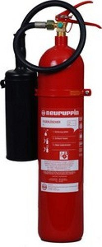 Feuerlöscher CO2 / Kohlendioxid 5kg K 5 Alu FLN Neuruppin (Instandhaltungsnachweis von Feuerlöscher-Tauschsystem)