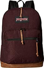 JanSport Right Pack Digital Edition Laptop Backpack - Micro Grid Red
