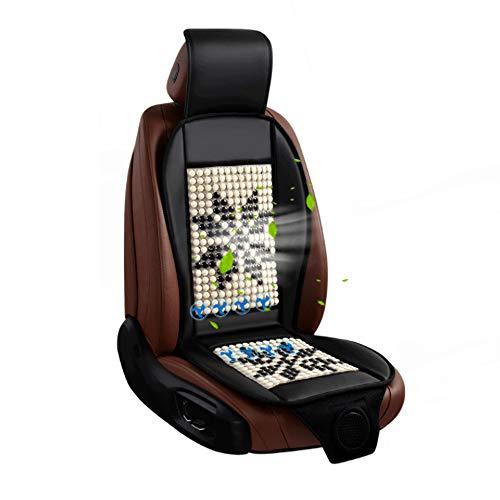 NCBH auto-zitkussen voor bestuurder, autostoel met koude lucht, 12 V, ventilatiestoel voor de zomer.