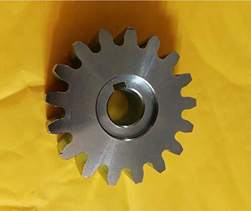 XUBF-GEAR, Rueda de piñón de Engranaje de Acero de 17 Dientes for Motor de Puerta corredera Py600: Amazon.es: Hogar