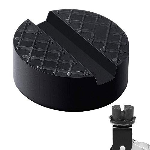 KAILEE Goma Gato Hidraulico Bloque de Goma Universal Protector 65x 34mm Tacos Goma para Elevador Coche o Vehículo Negro Soportar 3 Toneladas