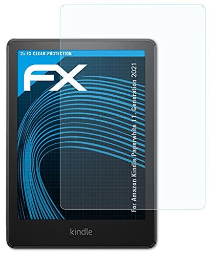 atFoliX Schermbeschermer compatibel met Amazn Kindl Paperwhite 11. Generation 2021 Beschermfolie, ultra-helder FX…
