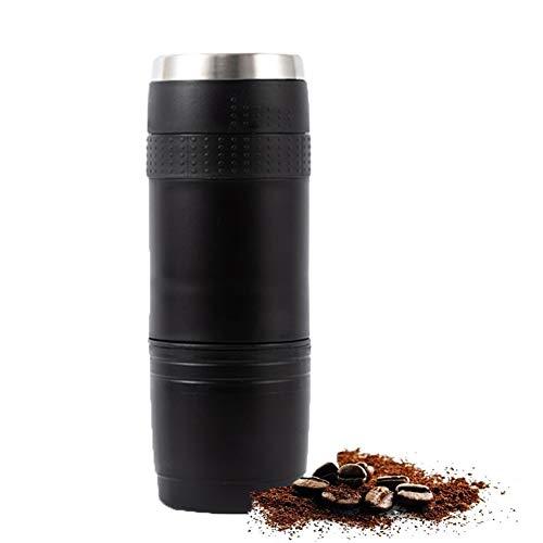 Capsule Machine à café Portable - Mini Machine à Espresso - Batterie nécessaire - Pod Voyage Parfait café pour la randonnée, Le Camping, la pêche et Pique-niques