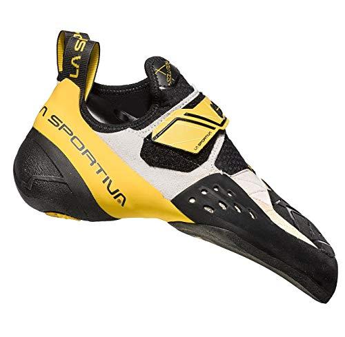 LaSportiva Solution Herren Kletterschuh White/Yellow - 40,5