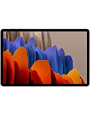 "Samsung Galaxy Tab S7+ Wi-Fi 12.4"" (256 GB Interminne, 8 GB RAM, Android, Tysk Version), Brons"