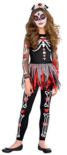 Disfraz Catrina para niñas y adolescentes