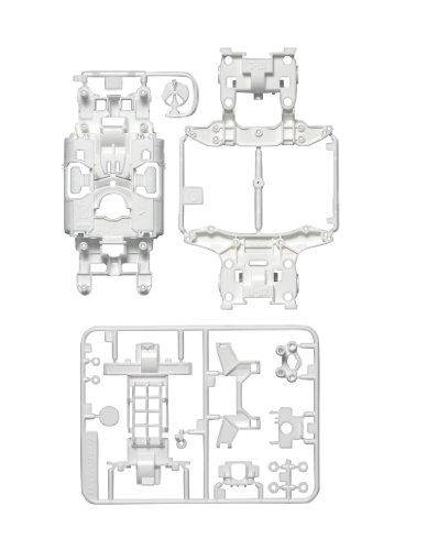 MS Reinforced Chassis Set (White) (Mini 4WD) (japan import)