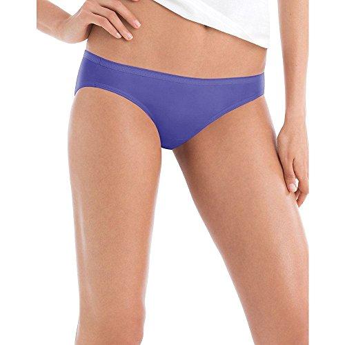Hanes Women's Ultra Soft Cotton Bikini Panties, Multi-Packs Available, 10 Pack-Assorted, 8