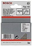 Bosch 2 609 200 217 - Grapa de alambre fino tipo 53-11,4 x 0,74 x 14 mm (pack de 1000)