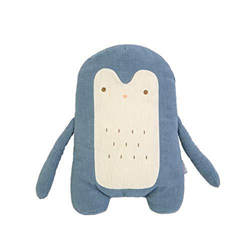 N / A Soft Cute Stuffed Sloth Toy Plush Rabbit Penguin Owl Toy Animals Plushie Doll Pillow Sofa Cushion For Kids Birthday Gift 38x25cm