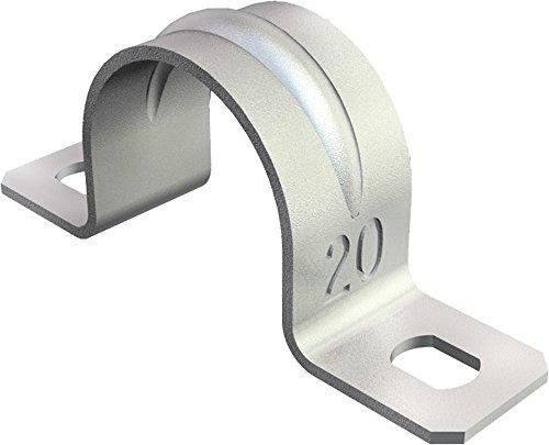 BETTERMANN Befestigungsschelle 2f Ï32mm, ST, GVZ 605 3 (10 Stück Befestigungsschelle)