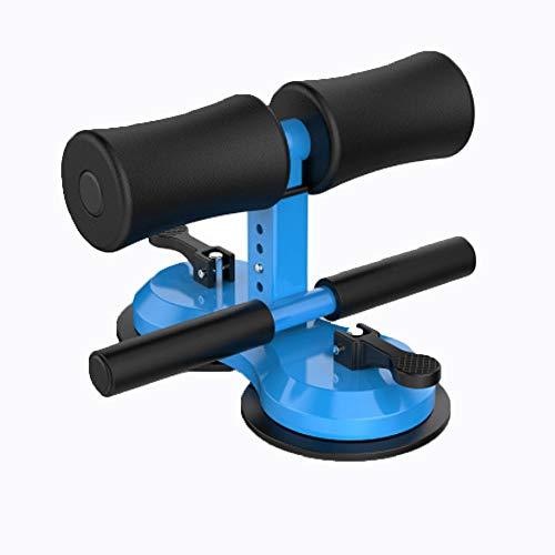 Equipo de fitness para sentarse, diseño mejorado, dispositivo de asistencia para sentarse, cuerpo de ejercicio ajustable con acolchado cómodo para hombres y mujeres, gimnasio en casa, color azul