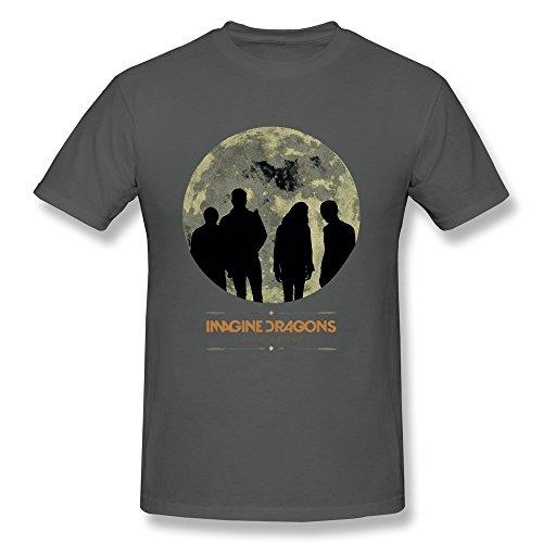 Sixtion Men's Imagine Dragons Zig Zag T-Shirt Small
