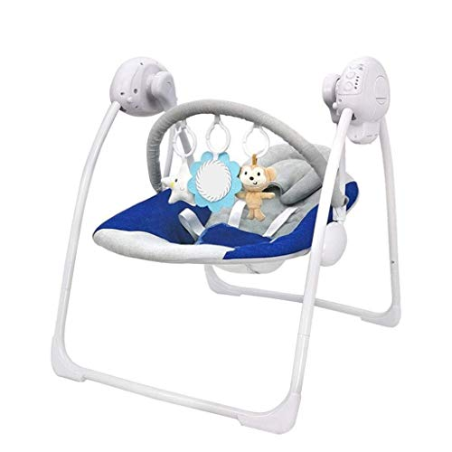 Best Buy! AZZ Electric Baby Swing Bouncer, Baby Rocker Chair, Steel Support Frame, Load Capacity 39l...