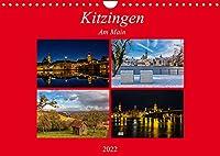 Kitzingen am Main (Wandkalender 2022 DIN A4 quer): Kalender der grossen Weinstadt Kitzingen am Main (Monatskalender, 14 Seiten )