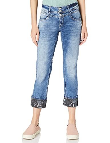 Street One Damen Jane Jeans, Dark Blue Fancy wash, W29/L26