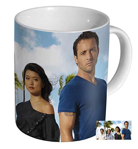 Hawaii Five-O Alex O'Loughlin Keramik Kaffeetasse Tasse