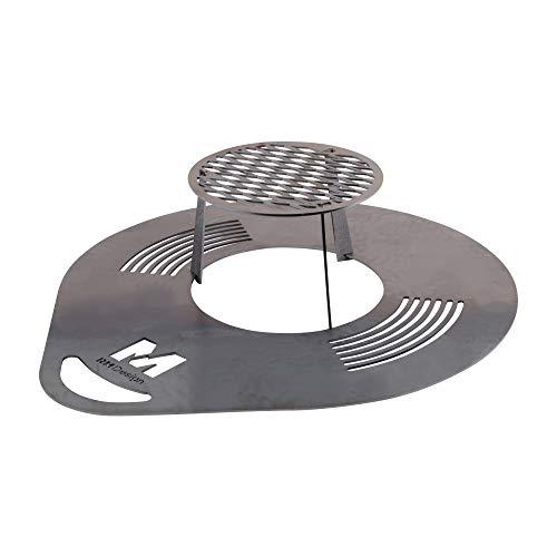RM Design grillplaat 60/80 cm diameter 60 cm