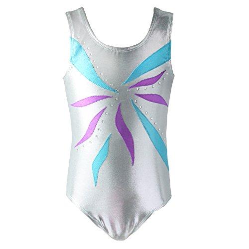 Brightup Girls One-Piece Gymnastics Athletic Leotard,Ballet Tutu Leotard