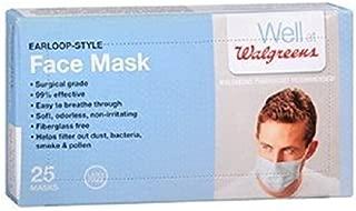 Best walgreens earloop style face mask Reviews