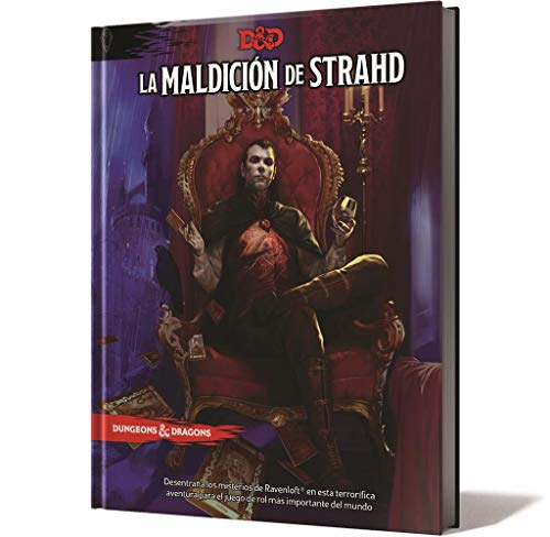 Edge Entertainment - La Maldición de Strahd (Asmodee, EEWCDD07)